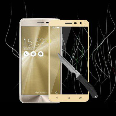 Naxtop Protective Film for Asus Zenfone 3 ZE520KLScreen Protectors<br>Naxtop Protective Film for Asus Zenfone 3 ZE520KL<br><br>Brand: Naxtop<br>Compatible Model: Asus Zenfone 3 ZE520KL<br>Features: Waterproof, Ultra thin, Shock Proof, Protect Screen, Anti-oil, Anti scratch, Anti fingerprint<br>Material: Tempered Glass<br>Package Contents: 1 x Screen Film, 1 x Wet Wipe, 1 x Dry Wipe, 1 x Dust-absorber<br>Package size (L x W x H): 17.00 x 9.50 x 1.00 cm / 6.69 x 3.74 x 0.39 inches<br>Package weight: 0.0830 kg<br>Product weight: 0.0090 kg<br>Surface Hardness: 9H<br>Thickness: 0.26mm<br>Type: Screen Protector