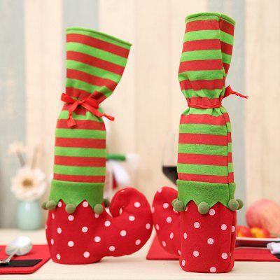 Christmas Wine Bottle Bag Table Leg Cover Party Decor 1PCChristmas Supplies<br>Christmas Wine Bottle Bag Table Leg Cover Party Decor 1PC<br><br>For: All<br>Material: Nonwoven<br>Package Contents: 1 x Wine Bottle Bag<br>Package size (L x W x H): 20.00 x 3.00 x 3.00 cm / 7.87 x 1.18 x 1.18 inches<br>Package weight: 0.0450 kg<br>Product size (L x W x H): 35.00 x 20.00 x 1.00 cm / 13.78 x 7.87 x 0.39 inches<br>Product weight: 0.0400 kg<br>Usage: Christmas, New Year, Birthday, Party