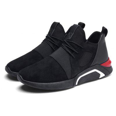 Men All-match Lightweight Breathable Athletic Shoes