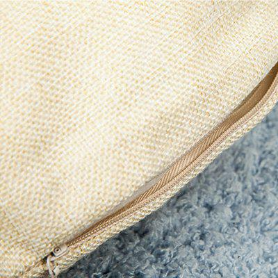 LAIMA BZ002 - 4 Flax Throw Pillow CasePillow<br>LAIMA BZ002 - 4 Flax Throw Pillow Case<br><br>Brand: LAIMA<br>Category: Pillow Case<br>For: All<br>Material: Flax<br>Occasion: Office, Living Room, Bedroom<br>Package Contents: 1 x Pillow Case<br>Package size (L x W x H): 23.00 x 23.00 x 0.50 cm / 9.06 x 9.06 x 0.2 inches<br>Package weight: 0.0800 kg<br>Product size (L x W x H): 45.00 x 45.00 x 0.50 cm / 17.72 x 17.72 x 0.2 inches<br>Product weight: 0.0800 kg<br>Type: Comfortable