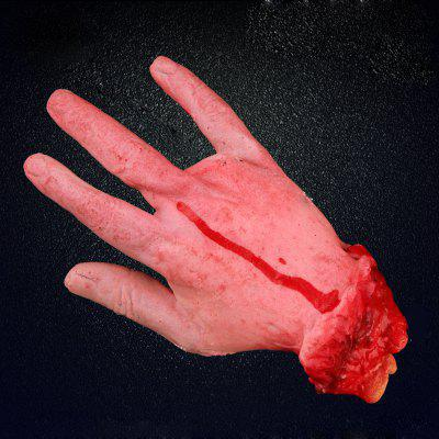 Halloween Horrible Decorative Bloody HandHalloween Supplies<br>Halloween Horrible Decorative Bloody Hand<br><br>Package Contents: 1 x Fake Hand<br>Package size (L x W x H): 25.00 x 15.00 x 15.00 cm / 9.84 x 5.91 x 5.91 inches<br>Package weight: 0.1600 kg<br>Product size (L x W x H): 21.00 x 11.00 x 11.00 cm / 8.27 x 4.33 x 4.33 inches<br>Product weight: 0.1400 kg<br>Usage: Halloween, Party, Performance, Stage