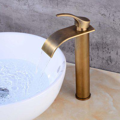 LING HAO HL - 309 Single Handle Waterfall Bathroom Faucet