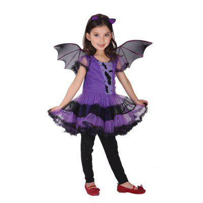 Halloween Cosplay Decorative Costume Dress with WingsHalloween Supplies<br>Halloween Cosplay Decorative Costume Dress with Wings<br><br>Package Contents: 1 x Dress, 1 x Headband, 1 x Pair of Wings<br>Package size (L x W x H): 20.00 x 10.00 x 10.00 cm / 7.87 x 3.94 x 3.94 inches<br>Package weight: 0.1600 kg<br>Usage: Halloween, Party, Performance, Stage