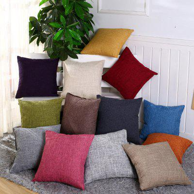 LAIMA Pillow Cover Comfortable Pillowcase for Bed SofaPillow<br>LAIMA Pillow Cover Comfortable Pillowcase for Bed Sofa<br><br>Brand: LAIMA<br>Category: Pillow Case<br>For: All<br>Material: Linen<br>Occasion: Living Room, KTV, Dining Room, Bedroom<br>Package Contents: 1 x Pillowcase<br>Package size (L x W x H): 23.00 x 23.00 x 0.50 cm / 9.06 x 9.06 x 0.2 inches<br>Package weight: 0.0900 kg<br>Product size (L x W x H): 40.00 x 40.00 x 0.50 cm / 15.75 x 15.75 x 0.2 inches<br>Product weight: 0.0900 kg