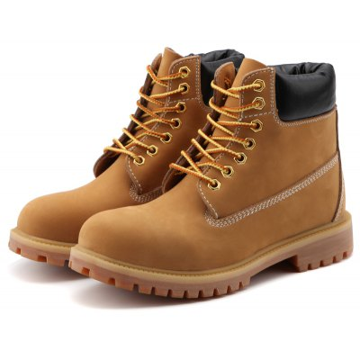 High Top Lace-up Slip Resistant Boots for Men