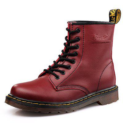Men Stylish Soft Lace-up Leather Ankle BootsMens Boots<br>Men Stylish Soft Lace-up Leather Ankle Boots<br><br>Closure Type: Lace-Up<br>Contents: 1 x Pair of Shoes, 1 x Box<br>Materials: Leather, Rubber<br>Occasion: Casual, Daily<br>Outsole Material: Rubber<br>Package Size ( L x W x H ): 31.00 x 22.00 x 15.00 cm / 12.2 x 8.66 x 5.91 inches<br>Package Weights: 1.000kg<br>Pattern Type: Solid<br>Product Weights: 0.8500kg<br>Seasons: Autumn,Spring,Winter<br>Style: Leisure, Fashion, Comfortable<br>Toe Shape: Round Toe<br>Type: Boots<br>Upper Material: Leather