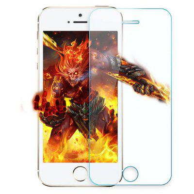 9H 2.5D Arc Tempered Glass Screen Film for iPhone 5 / 5S /SE