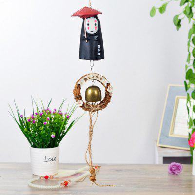 Buy BLACK B Cartoon Design Wind Chime Hanging Decoration for $13.45 in GearBest store