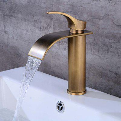 LING HAO HL - 308 Single Handle Waterfall Bathroom Faucet