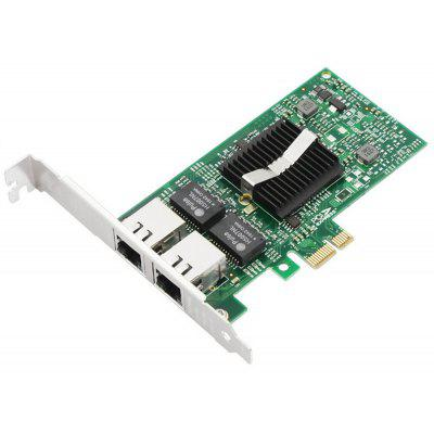 PCI-E X1 Dual Port Gigabit Ethernet Network Card