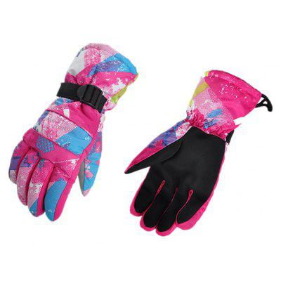 Pair of Full-finger Windproof Warm-keeping Gloves