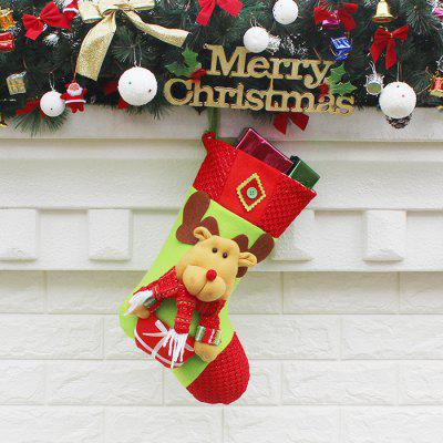 Christmas Decoration Socks Elk Pattern Candy Gift BagChristmas Supplies<br>Christmas Decoration Socks Elk Pattern Candy Gift Bag<br><br>For: Friends, Kids, Sisters<br>Material: Nonwoven<br>Package Contents: 1 x Christmas Decoration<br>Package size (L x W x H): 46.50 x 27.50 x 3.00 cm / 18.31 x 10.83 x 1.18 inches<br>Package weight: 0.1200 kg<br>Product weight: 0.1000 kg<br>Usage: Birthday, Party, Christmas