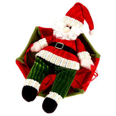 Christmas Santa Claus with Parachute Hanging DecorationChristmas Supplies<br>Christmas Santa Claus with Parachute Hanging Decoration<br><br>For: Friends, Kids, Sisters<br>Package Contents: 1 x Christmas Parachute Decoration<br>Package size (L x W x H): 30.00 x 10.00 x 6.00 cm / 11.81 x 3.94 x 2.36 inches<br>Package weight: 0.1280 kg<br>Product weight: 0.1200 kg<br>Usage: Christmas, Birthday, Party