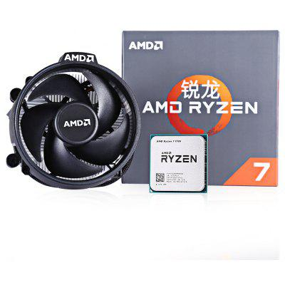 AMD RYZEN 7 1700 8-core Socket AM4 Processor rui long amd ryzen 7 1700x процессор 8 ядерный интерфейс am4 3 4 ггц в штучной упаковке