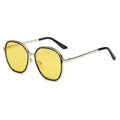 SENLAN 6055 Trendy Mirrored Sunglasses
