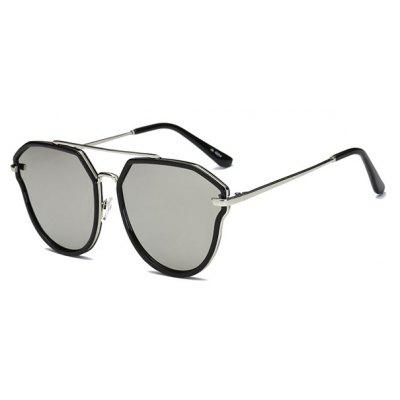 SENLAN 6054 Men Cool Trendy Mirrored Sunglasses