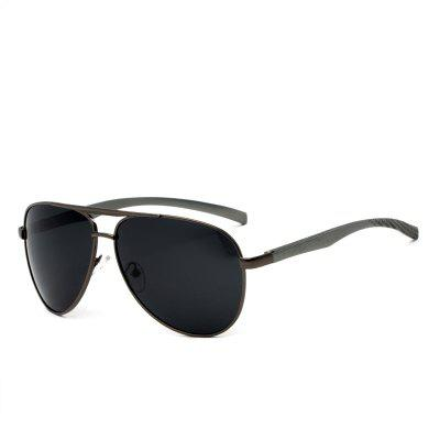 TOMYE P1016 Square Polarized Male Sunglasses