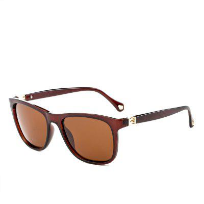 TOMYE P6001 Male Square Polarized Sunglasses