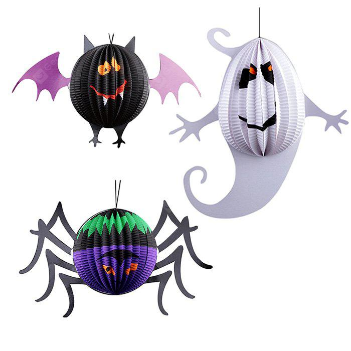 Adereços de Halloween Papel de Lanterna de Decorado 1PC