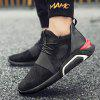 Men All-match Lightweight Breathable Athletic Shoes - BLACK