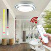 Led Ceiling Lights Change Color Temperature Ceiling Lamp 20W Smart Remote Control Dimmable Bedroom Living Room - WHITE + SILVER