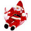 Buy Christmas Snowman Parachute Hanging Decoration RED WITH WHITE