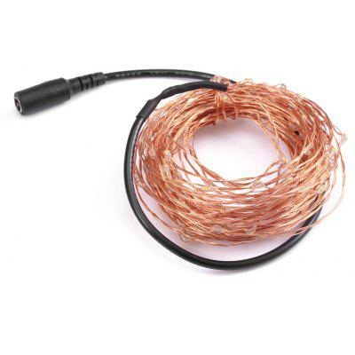 YWXLight 10M Christmas LED String Light Bendable Copper Wire Lighting