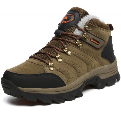 Plus Size Thicken Keep Warm Hiking Shoes for MenAthletic Shoes<br>Plus Size Thicken Keep Warm Hiking Shoes for Men<br><br>Closure Type: Lace-Up<br>Contents: 1 x Pair of Shoes<br>Function: Slip Resistant<br>Materials: Rubber, Genuine Leather<br>Occasion: Casual, Daily<br>Outsole Material: Rubber<br>Package Size ( L x W x H ): 33.00 x 22.00 x 11.00 cm / 12.99 x 8.66 x 4.33 inches<br>Package Weights: 0.95kg<br>Seasons: Autumn,Winter<br>Style: Comfortable, Casual<br>Type: Hiking Shoes<br>Upper Material: Genuine Leather