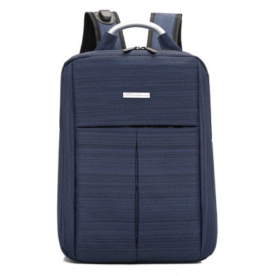 Buy BLUE Men Business Nylon Laptop Backpack with USB Port for $28.69 in GearBest store