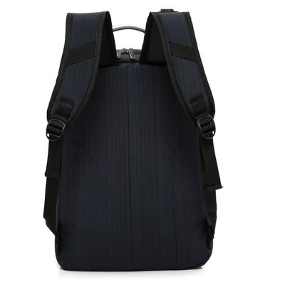 Men Business Nylon Laptop Backpack with USB PortBackpacks<br>Men Business Nylon Laptop Backpack with USB Port<br><br>Features: Wearable<br>Gender: Men<br>Material: Nylon<br>Package Size(L x W x H): 30.00 x 4.00 x 41.00 cm / 11.81 x 1.57 x 16.14 inches<br>Package weight: 0.6700 kg<br>Packing List: 1 x Backpack<br>Product weight: 0.6500 kg<br>Style: Business, Fashion<br>Type: Backpacks