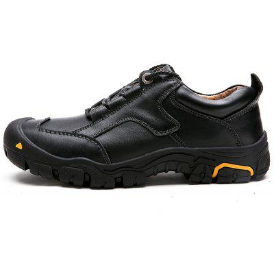 Male Outdoor Lace-up Hiking Slip Resistant Atheletic ShoesAthletic Shoes<br>Male Outdoor Lace-up Hiking Slip Resistant Atheletic Shoes<br><br>Closure Type: Lace-Up<br>Contents: 1 x Pair of Shoes<br>Function: Slip Resistant<br>Materials: Rubber, Genuine Leather<br>Occasion: Casual, Daily<br>Outsole Material: Rubber<br>Package Size ( L x W x H ): 33.00 x 24.00 x 13.00 cm / 12.99 x 9.45 x 5.12 inches<br>Package Weights: 1.1kg<br>Seasons: Autumn,Spring,Winter<br>Style: Comfortable, Casual<br>Type: Hiking Shoes<br>Upper Material: Genuine Leather