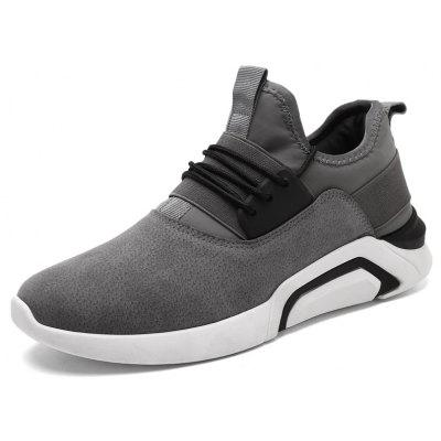 Male Sports Leisure Running Anti-skid ShoesAthletic Shoes<br>Male Sports Leisure Running Anti-skid Shoes<br><br>Closure Type: Lace-Up<br>Contents: 1 x Pair of Shoes<br>Function: Slip Resistant<br>Materials: Rubber, Leather<br>Outsole Material: Rubber<br>Package Size ( L x W x H ): 33.00 x 22.00 x 11.00 cm / 12.99 x 8.66 x 4.33 inches<br>Package Weights: 0.85kg<br>Seasons: Autumn,Spring<br>Style: Comfortable, Casual<br>Type: Casual Shoes<br>Upper Material: Leather