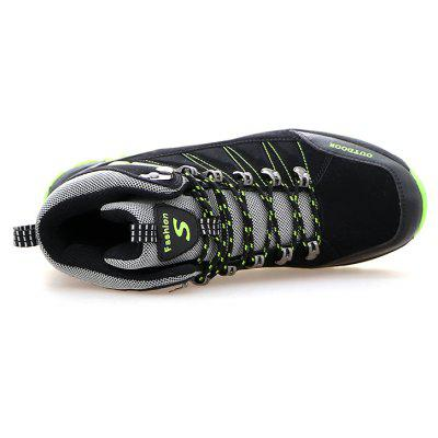 Lace-up Outdoor Hiking Shoes for MenAthletic Shoes<br>Lace-up Outdoor Hiking Shoes for Men<br><br>Closure Type: Lace-Up<br>Contents: 1 x Pair of Shoes<br>Function: Slip Resistant<br>Materials: Suede, Rubber<br>Occasion: Casual, Daily<br>Outsole Material: Rubber<br>Package Size ( L x W x H ): 33.00 x 22.00 x 11.00 cm / 12.99 x 8.66 x 4.33 inches<br>Package Weights: 0.95kg<br>Seasons: Autumn,Spring,Winter<br>Style: Comfortable, Casual<br>Type: Hiking Shoes<br>Upper Material: Suede