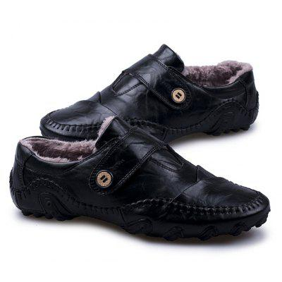 Male Soft Warmest Plush Octopus Casual Oxford LoaferMen's Oxford<br>Male Soft Warmest Plush Octopus Casual Oxford Loafer<br><br>Closure Type: Buckle Strap, Lace-Up<br>Contents: 1 x Pair of Shoes, 1 x Box<br>Function: Slip Resistant<br>Materials: Leather, Rubber<br>Occasion: Shopping, Tea Party, Party, Office, Holiday, Daily, Casual<br>Outsole Material: Rubber<br>Package Size ( L x W x H ): 30.00 x 20.00 x 13.00 cm / 11.81 x 7.87 x 5.12 inches<br>Package Weights: 0.82kg<br>Pattern Type: Solid<br>Seasons: Autumn,Winter<br>Style: Modern, Leisure, Fashion, Comfortable, Casual<br>Toe Shape: Round Toe<br>Type: Casual Leather Shoes<br>Upper Material: Leather
