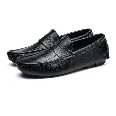 Mâle Bloc Plus Taille Casual Loafer Oxford Chaussures