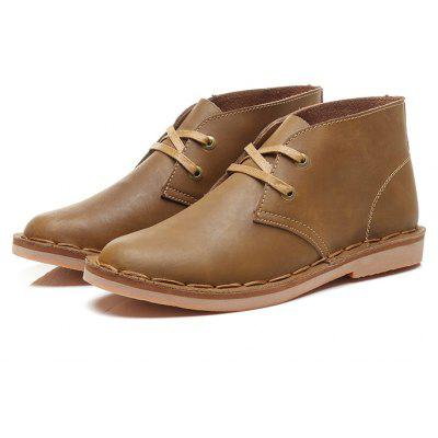 Male Business Casual Trendy Soft Nostalgic Martin Boots