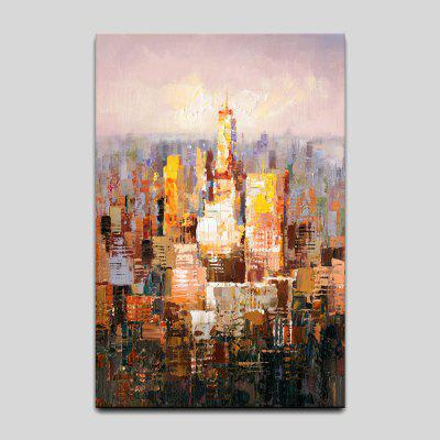 Buy YHHP Abstract Canvas Prints Architecture Hanging Wall Art, COLORMIX, Home & Garden, Home Decors, Wall Art, Prints for $20.90 in GearBest store