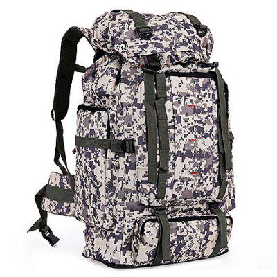 EVEVEME 0086 Water-resistant Nylon Climb BackpackBackpacks<br>EVEVEME 0086 Water-resistant Nylon Climb Backpack<br><br>Brand: EVEVEME<br>Capacity: Above 40L<br>For: Camping, Climbing, Cycling, Hiking<br>Gender: Unisex<br>Material: Nylon<br>Package Contents: 1 x Backpack<br>Package size (L x W x H): 40.00 x 30.00 x 2.00 cm / 15.75 x 11.81 x 0.79 inches<br>Package weight: 1.2100 kg<br>Product weight: 1.2000 kg<br>Strap Length: 42 - 73cm<br>Style: Sport, Leisure<br>Type: Backpack