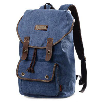 Buy BLUE Douguyan 25.7L Backpack for $26.47 in GearBest store