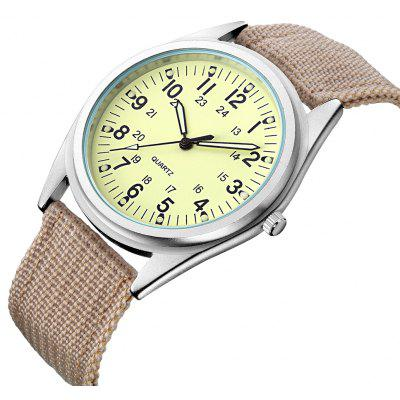 MG.ORKINA ORK081201 Cloth Band Men Quartz Watch