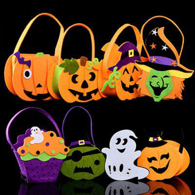 Kids Decorative Creative Handbag for Halloween 6pcsHalloween Supplies<br>Kids Decorative Creative Handbag for Halloween 6pcs<br><br>Package Contents: 6 x Handbag<br>Package size (L x W x H): 25.00 x 50.00 x 10.00 cm / 9.84 x 19.69 x 3.94 inches<br>Package weight: 0.2300 kg<br>Product size (L x W x H): 18.00 x 19.00 x 7.00 cm / 7.09 x 7.48 x 2.76 inches<br>Product weight: 0.0350 kg<br>Usage: Halloween, Party, Performance, Stage