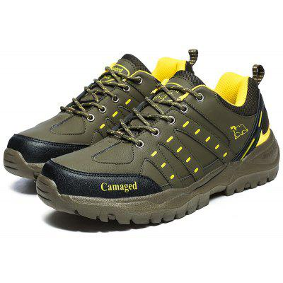 Buy ARMY GREEN 45 Men Outdoor Breathable Lightweight Athletic Shoes for $34.88 in GearBest store