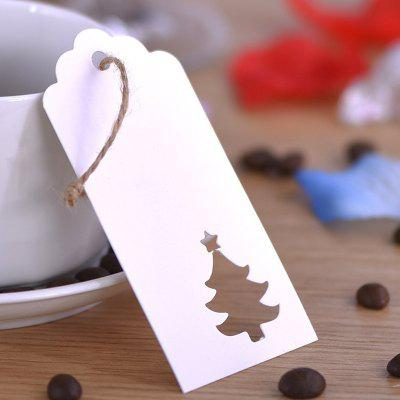 Blank Paper Gift Tag Multifunctional Hollow Label 100PCS