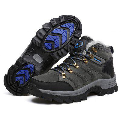 Men Comfortable Outdoor Thermal Anti-skid Hiking ShoesAthletic Shoes<br>Men Comfortable Outdoor Thermal Anti-skid Hiking Shoes<br><br>Closure Type: Lace-Up<br>Contents: 1 x Pair of Shoes<br>Materials: Rubber, Suede<br>Occasion: Sports<br>Outsole Material: Rubber<br>Package Size ( L x W x H ): 33.00 x 22.00 x 11.00 cm / 12.99 x 8.66 x 4.33 inches<br>Package Weights: 1.0500kg<br>Product Weights: 0.9000kg<br>Seasons: Winter<br>Toe Shape: Round Toe<br>Type: Hiking Shoes<br>Upper Material: Suede