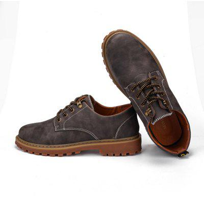 Male Versatile Classical Brush Color Casual Leather ShoesCasual Shoes<br>Male Versatile Classical Brush Color Casual Leather Shoes<br><br>Closure Type: Lace-Up<br>Contents: 1 x Pair of Shoes, 1 x Box, 1 x Dustproof Paper<br>Function: Slip Resistant<br>Materials: PU, Rubber<br>Occasion: Tea Party, Shopping, Party, Office, Holiday, Formal, Dress, Daily, Casual<br>Outsole Material: Rubber<br>Package Size ( L x W x H ): 33.00 x 22.00 x 11.00 cm / 12.99 x 8.66 x 4.33 inches<br>Package Weights: 0.95kg<br>Pattern Type: Solid<br>Seasons: Autumn,Spring,Winter<br>Style: Modern, Leisure, Formal, Fashion, Comfortable, Casual, Business<br>Toe Shape: Round Toe<br>Type: Casual Leather Shoes<br>Upper Material: PU