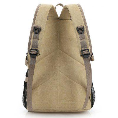 Men Outdoor Anti-theft Large Capacity Canvas BackpackBackpacks<br>Men Outdoor Anti-theft Large Capacity Canvas Backpack<br><br>Features: Wearable<br>Gender: Men<br>Material: Canvas<br>Package Size(L x W x H): 34.00 x 4.00 x 44.00 cm / 13.39 x 1.57 x 17.32 inches<br>Package weight: 0.6200 kg<br>Packing List: 1 x Backpack<br>Product weight: 0.6000 kg<br>Style: Casual, Fashion<br>Type: Backpacks