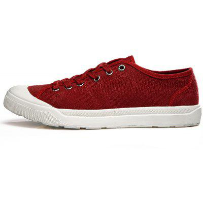 Male Breathable Ultralight Soft Linen Casual Flat ShoesCasual Shoes<br>Male Breathable Ultralight Soft Linen Casual Flat Shoes<br><br>Closure Type: Lace-Up<br>Contents: 1 x Pair of Shoes, 1 x Box<br>Decoration: Split Joint<br>Function: Slip Resistant<br>Materials: Linen, Rubber, Leather, Fabric, Cotton<br>Occasion: Tea Party, Sports, Shopping, Running, Riding, Party, Casual, Daily, Holiday, Office, Outdoor Clothing<br>Outsole Material: Rubber<br>Package Size ( L x W x H ): 31.00 x 16.00 x 12.00 cm / 12.2 x 6.3 x 4.72 inches<br>Package Weights: 0.72kg<br>Pattern Type: Solid<br>Seasons: Autumn,Spring<br>Style: Modern, Leisure, Fashion, Comfortable, Casual<br>Toe Shape: Round Toe<br>Type: Casual Leather Shoes<br>Upper Material: Cotton Fabric,Leather,Linen