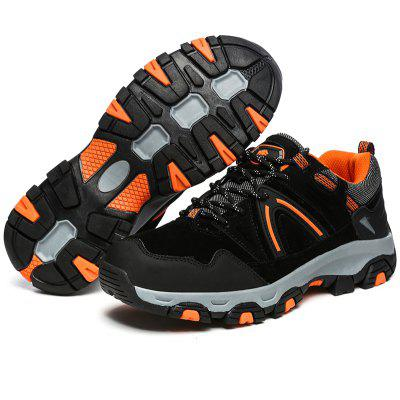 Men Waterproof Anti-skid Suede Hiking ShoesAthletic Shoes<br>Men Waterproof Anti-skid Suede Hiking Shoes<br><br>Closure Type: Lace-Up<br>Contents: 1 x Pair of Shoes<br>Materials: Rubber, Suede<br>Outsole Material: Rubber<br>Package Size ( L x W x H ): 33.00 x 22.00 x 11.00 cm / 12.99 x 8.66 x 4.33 inches<br>Package Weights: 1.0500kg<br>Product Weights: 0.9000kg<br>Seasons: Autumn,Spring,Winter<br>Style: Comfortable<br>Toe Shape: Round Toe<br>Type: Hiking Shoes<br>Upper Material: Suede