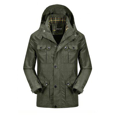 Jeep Rich Outdoor Hooded Jacket