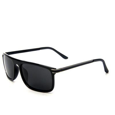 TOMYE P521 Male Trendy Polarized Metal Bar Sunglasses